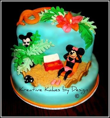 Beach Cakes Images