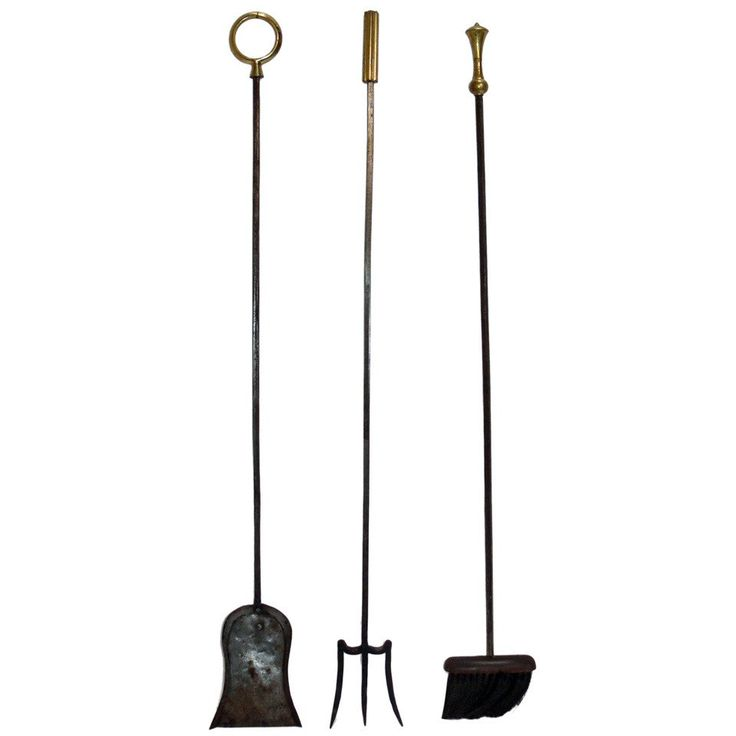 Large Scale Italian Fire Tools   From a unique collection of antique and modern fireplace tools and chimney pots at https://www.1stdibs.com/furniture/building-garden/fireplace-tools-chimney-pots/