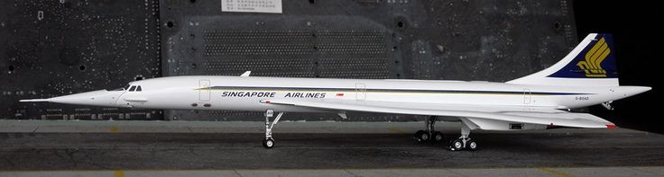 Singapore Airlines/BA Livery Concorde  JC Wings 1:200