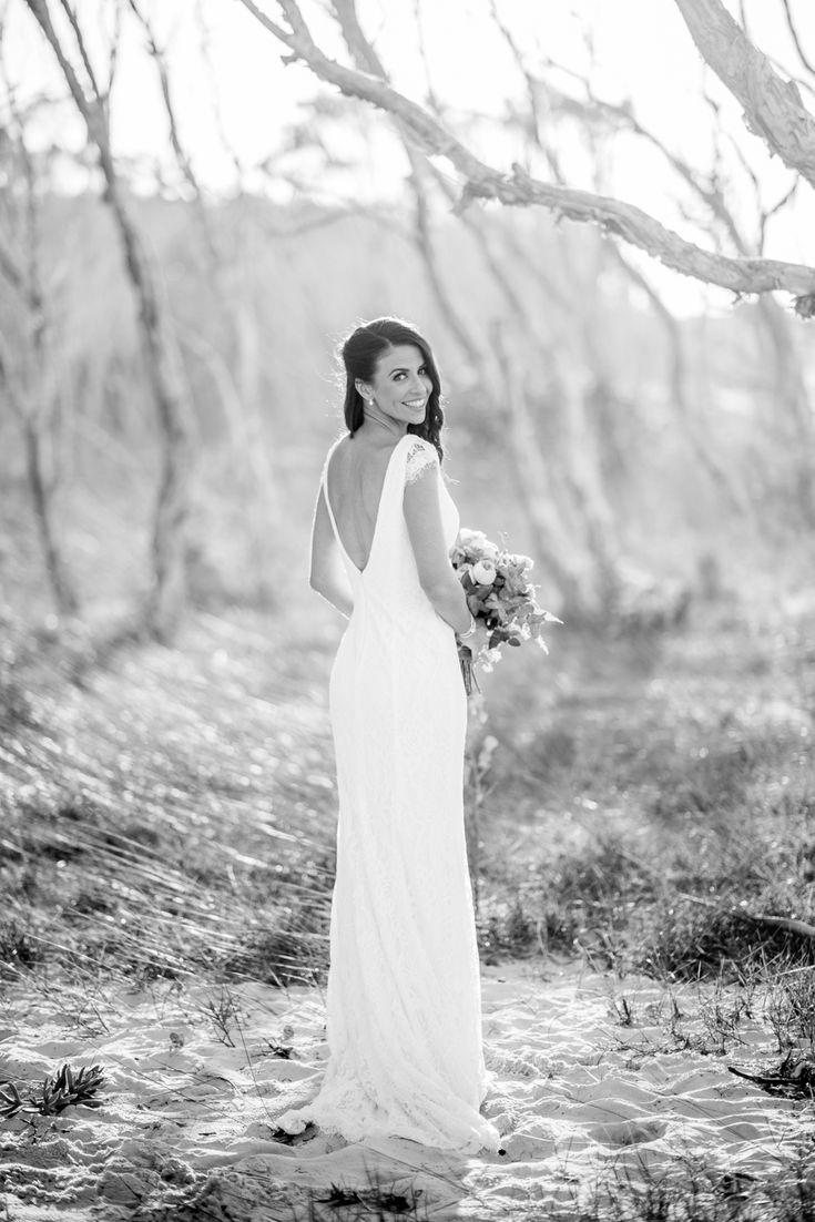 Wowzer, what a bridal portrait amongst the trees on Straddie    North Stradbroke Island stradbrokeislandphotography.com