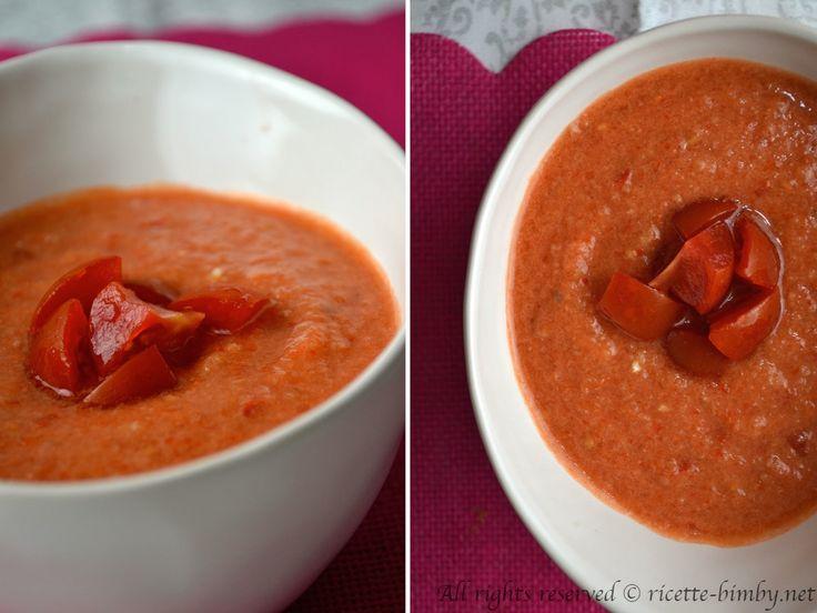 Il gazpacho è una zuppa fredda tipica della regione dell'Andalusia. Scopri la ricetta e gli ingredienti per prepararlo con il tuo bimby.