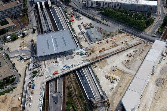 Gare multimodale Nanterre-Université et son parvis - Epadesa
