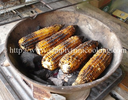 Roast Corn | Simply Trini Cooking #trinicooking