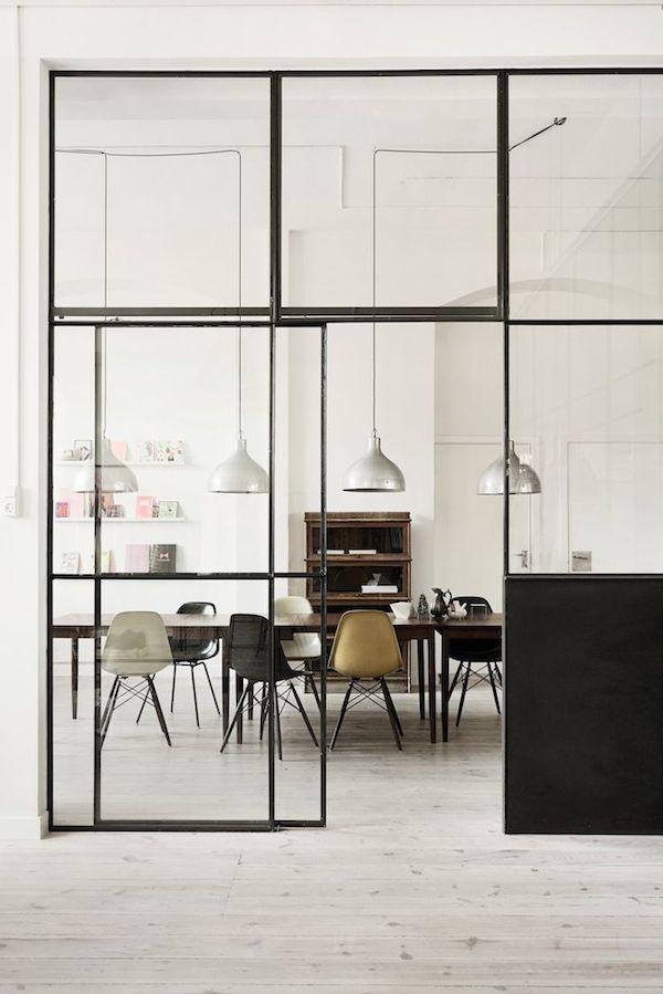 pareti in vetro per dividere spazi interni - Cerca con Google