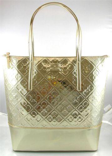 Kate Spade Beale Street Gold Tote Bag Purse - Just got it for running errands next year!