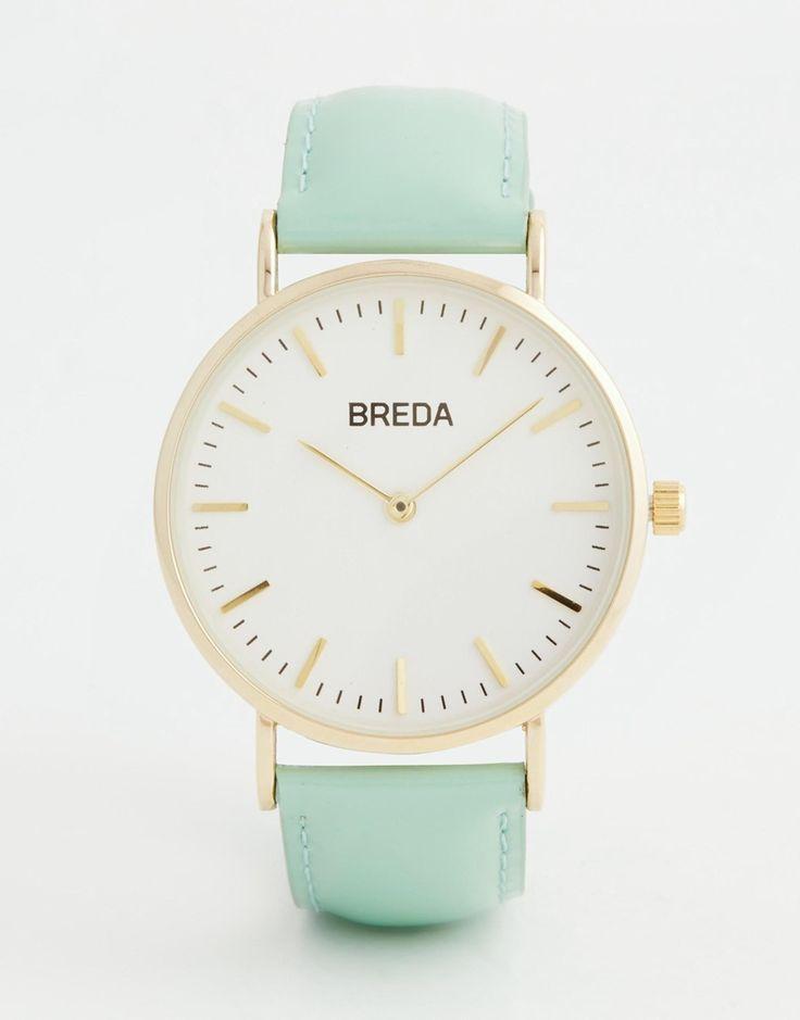 Image 1 of Breda Classic Minimalist Mint Watch