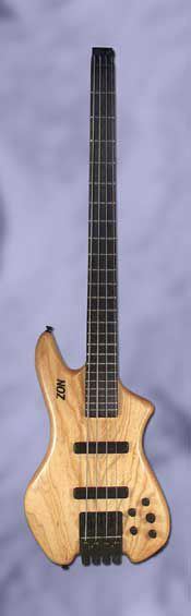 """VB4 Zon Bass ~ Zon Guitars ~ """"Taking Bass Further"""" Give it a LISTEN here in this AMAZING VIDEO DEMO by Zander Zon [no relation - stage name] D'Addario piccolo strings, gauges 020 - 052 ~ Truly nice! Check it out! http://www.zonguitars.com/"""