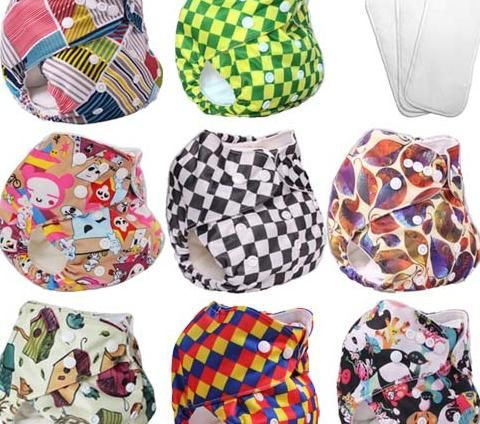 $4.99 - cloth diapers,what size diapers