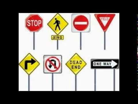 Traffic Signs And Meanings