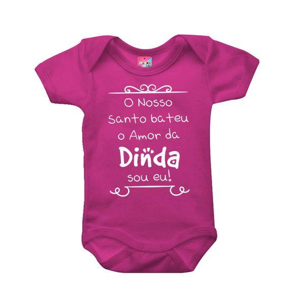 Body O Nosso Santo Bateu Dinda Com Imagens Roupas De Bebe Personalizadas Roupas De Bebe Baratas Roupas De Bebe Menina