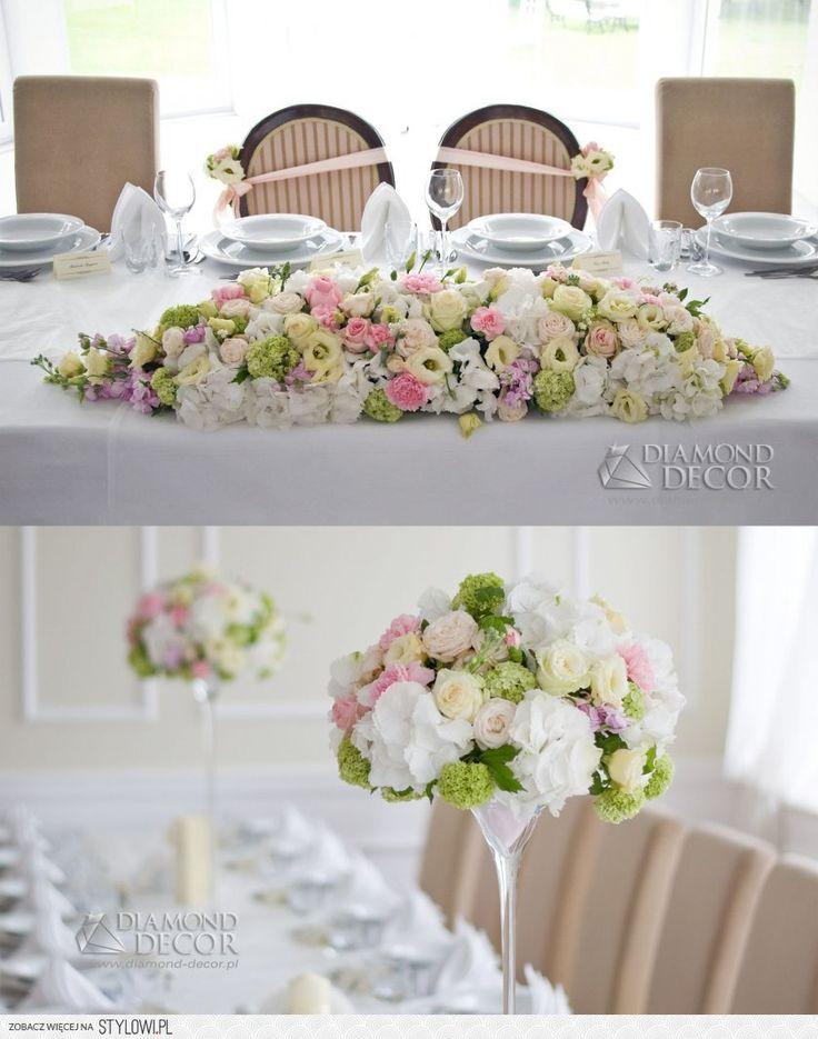 Dekoracja sto w weselnych na flores for Table 0 5 ans portneuf