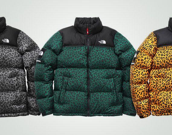 26c886a1d7 ... Supreme x The North Face Leopard Print Down Jacket ...
