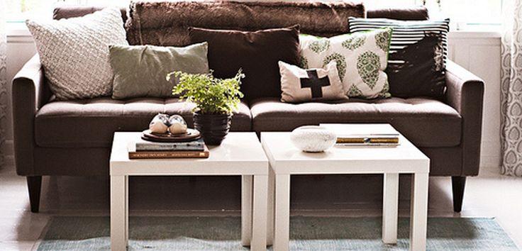 Ideas decorativas con la mesa Lack de Ikea - http://www.decoora.com/ideas-decorativas-con-la-mesa-lack-de-ikea.html