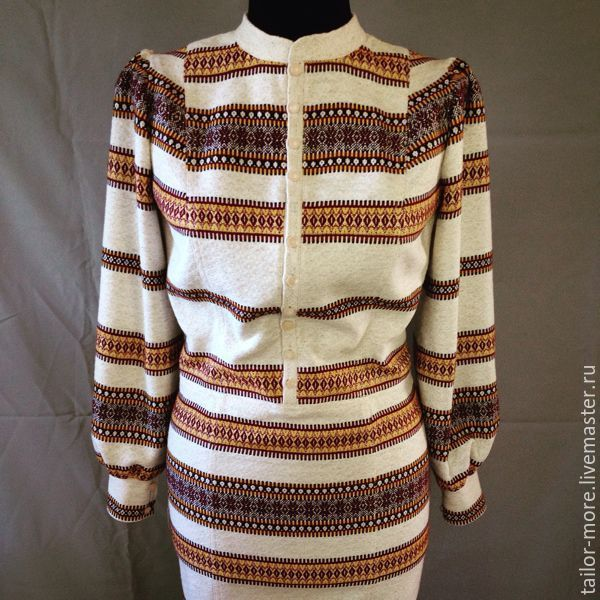 Льняное платье-футляр - Tailor More - Ярмарка Мастеров