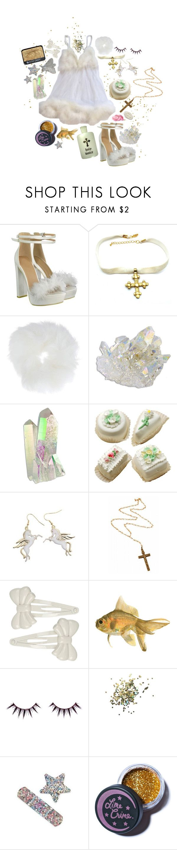 """""""twinkle twinkle little girl"""" by voidberry ❤ liked on Polyvore featuring Child Of Wild, Topshop, Rock 'N Rose, Forever 21, Viva La Diva, NARS Cosmetics and Lime Crime"""