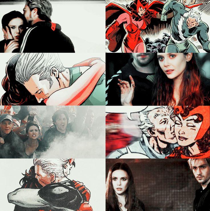 "fckuz: ""Wanda and Pietro Maximoff, twins.... - Marvel Universe"