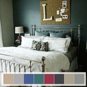 Color Trends 2013 - Pantone Palette: Glamour An ethereal gray room punctuated
