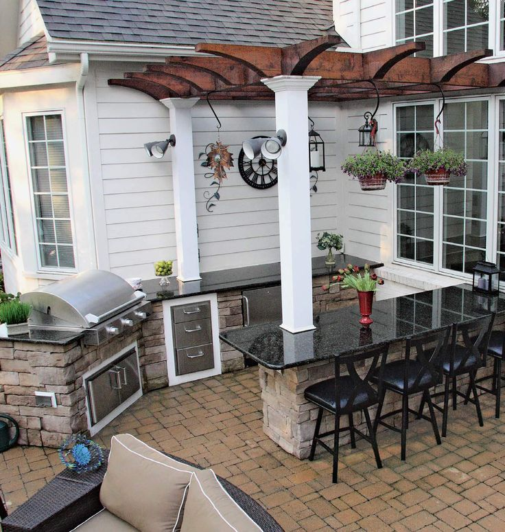 Check out these 100+ outdoor kitchen designs as well as discover the different types and key features needed to create a proper outdoor kitchen.