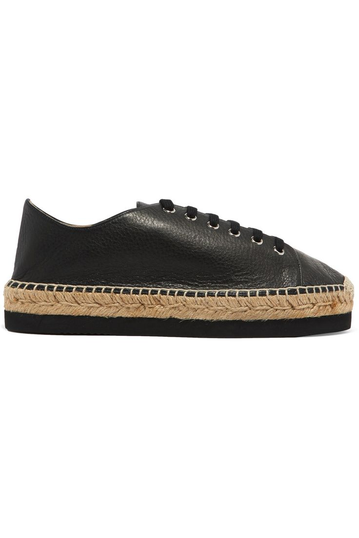 Shop on-sale Paloma Barceló Orlanda leather platform espadrille sneakers. Browse other discount designer Espadrilles & more on The Most Fashionable Fashion Outlet, THE OUTNET.COM