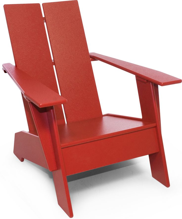 The Kids Adirondack Chair is sized for kids ages 1 through 10 and is perfect for use outdoors or indoors in the playroom. Made from durable, washable and recycled high-density polyethylene, finger pai