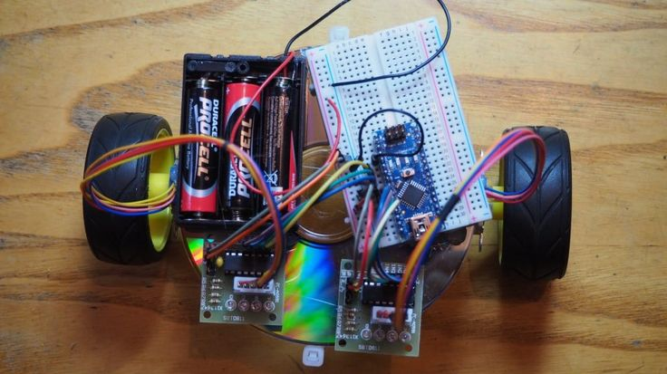 Cheap, Easy To Build Robot For beginners | Hackaday