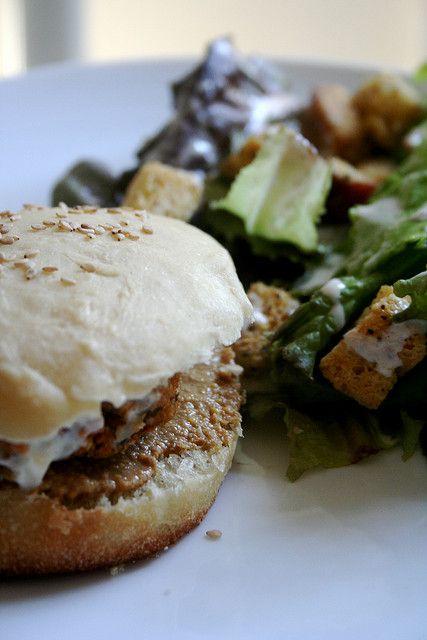 Sweet Potato and Black Bean Burger | Vegan Sandwiches / Patties / Wra ...