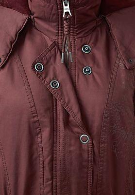 CECIL Parka Style Jacke in merlot im Online Shop von Baur Versand