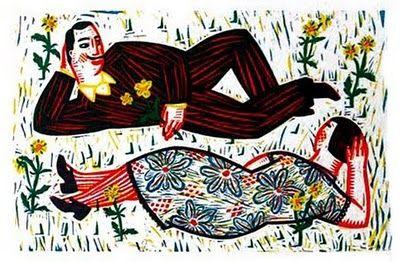 Work of Belgian children's illustrator Isabelle Vandenabeele - winner of Illustrarte '09 via Planeta Tangerina