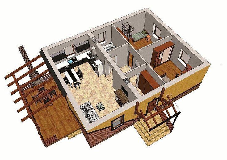 Одноэтажный загородный дом. Обсуждение на LiveInternet - Российский Сервис Онлайн-Дневников