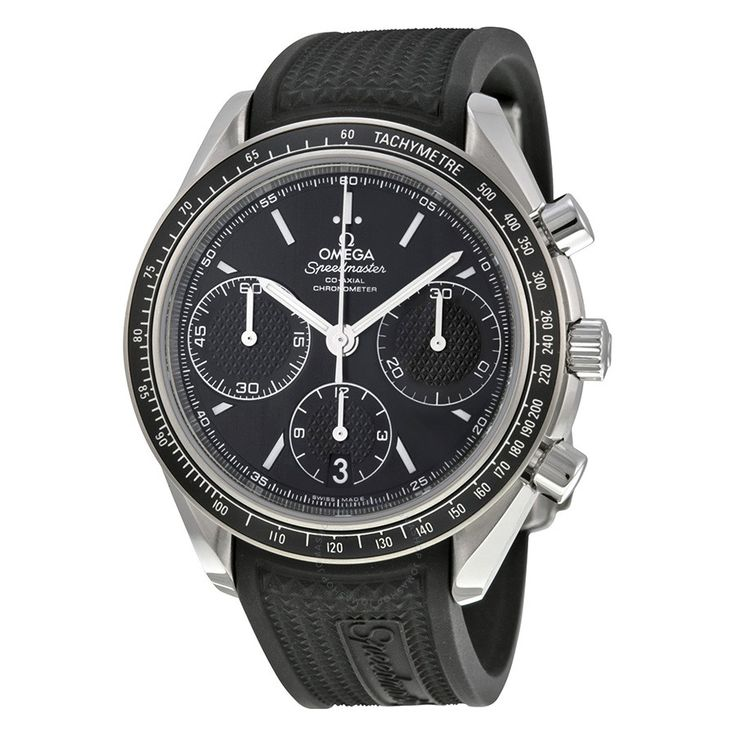 Omega Speedmaster Racing Automatic Chronograph Black Dial Stainless Steel Men's Watch 326.32.40.50.01.001 - Speedmaster - Omega - Watches - Jomashop