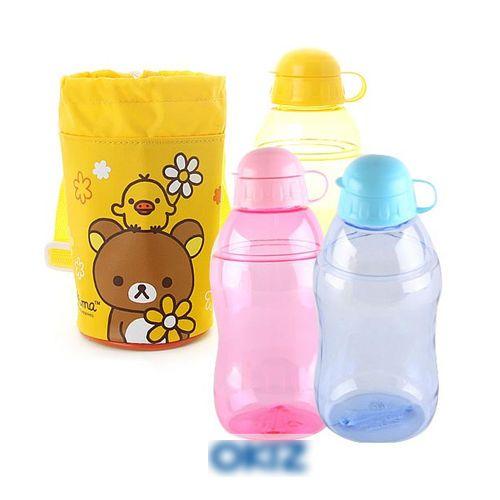 Housewares Household Articles- Rilakkuma water bottle & pocket set 4EA