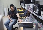 KU engineers work to remove obstacles for small commercial drones — literally | Collision avoidance technology is one of the big obstacles to gaining federal approval for commercial use of small unmanned aerial vehicles, or UAVs. And some Kansas University engineers are working on it. Technology includes a miniature on-board radar system and an instrument that enables match-tip sized sound-sensing devices to be used outdoors.
