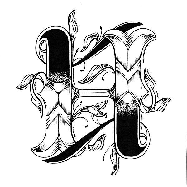 Love Letters, um Alfabeto Desenhado a Mão | Abduzeedo Design Inspiration & Tutorials