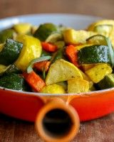 Air Fried Zucchini, Yellow Squash, and Carrots
