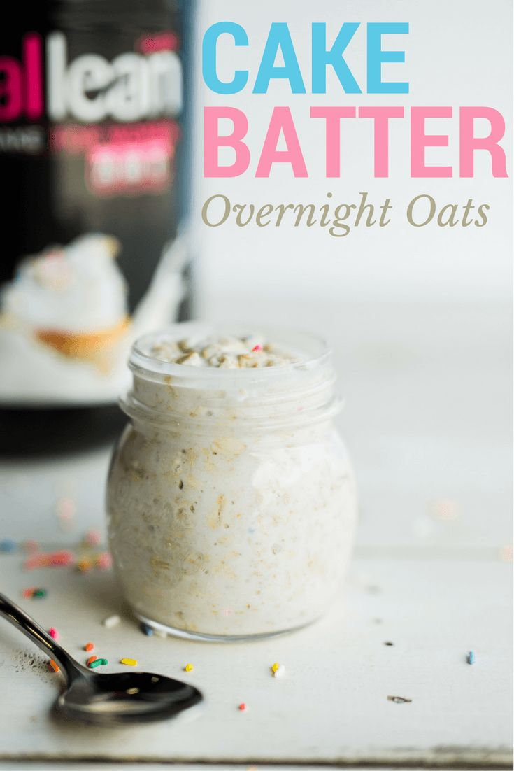 Cake Batter Protein Oats |Protein Recipes|                                                                                                                                                                                 More