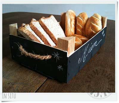 20 ideas para decorar con cajas recicladas.