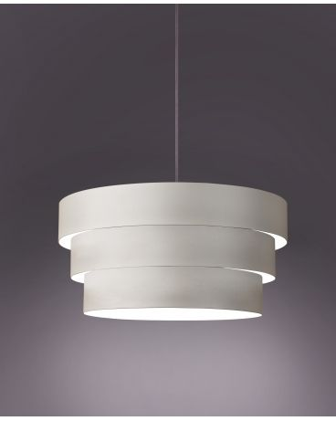 Kup teraz na Powerage.pl za 142,00zł. Lampa wisząca metalowa GS L biały. Bezpieczne i wygodne zakupy online.Wysyłka w max. 10 dni!