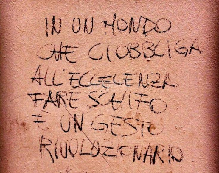 Scritte sui Muri | Azione sovversiva
