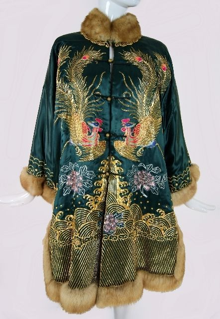 60s, Chinese robe coat...........I would wear this!.............Anita
