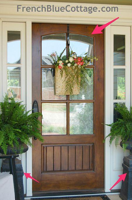 23 best front doors images on pinterest arquitetura for Cape cod front door styles