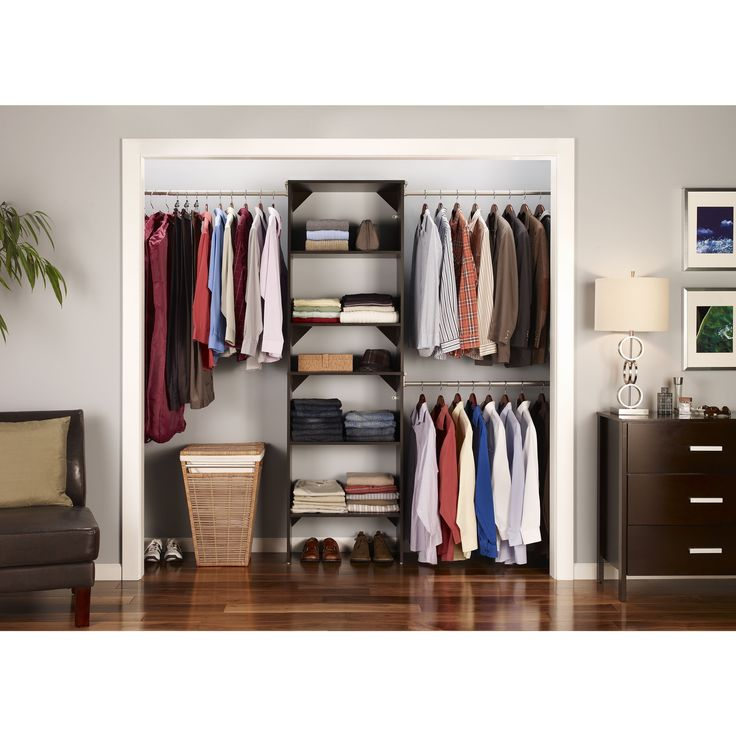 Closetmaid Suitesymphony 25 Inch Wide Tower Kit By