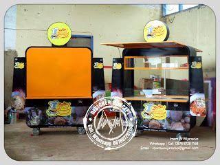 Desain Logo | Logo Kuliner |  Desain Gerobak | Jasa Desain dan Produksi Gerobak | Branding: Produksi Gerobak Bakso Boss