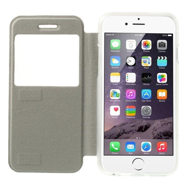Javu - iPhone 6 - Window View Case Hoesje Cabello Rood | Shop4Hoesjes