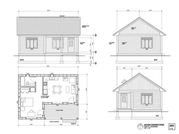 Sensational 17 Best Ideas About Tiny House Plans Free On Pinterest Cabin Largest Home Design Picture Inspirations Pitcheantrous