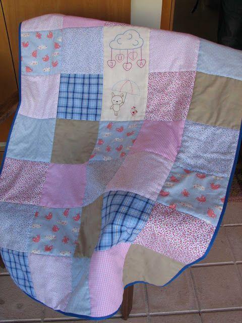 Deshilachado: Escuela de Patchwork: pasos de elaboración de un quilt / Patchwork School: steps to create a quilt