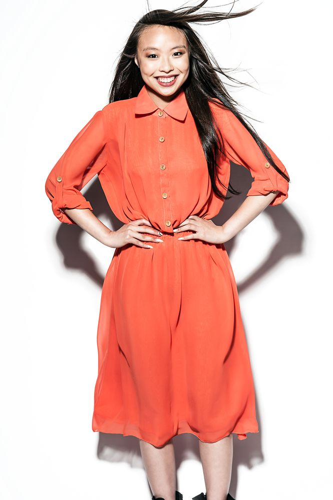 SHE/S A RIOT Online Store — CORAL GIRL dress