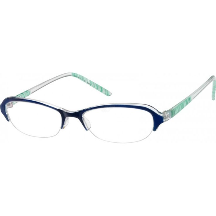 cute inexpensive frame from zenni optical online a medium size plastic half