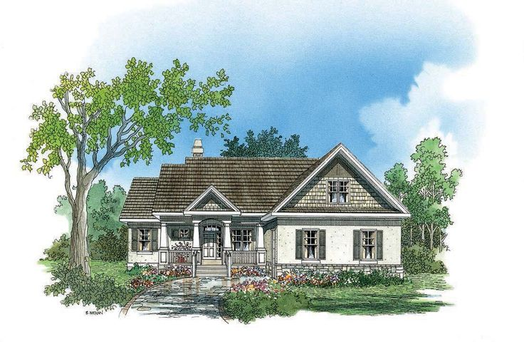 The Lochmere House Plan by Donald A. Gardner Architects