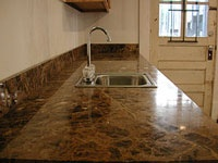 how to clean marble - never use vinegar or lemon or anything acidic, and wipe up water drops to prevent discolouration