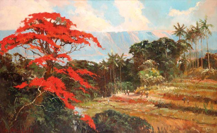 Sudjono Abdullah (Yogyakarta, 1911 – 1993) - Panen.